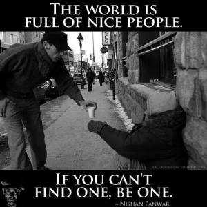 world full of nice people