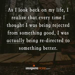 EVERYTIME I FELT BAD WAS REDIRECTED BETTER